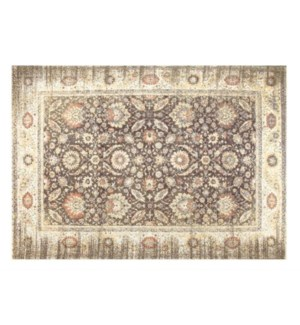"""NH19(A) Woven Carpet, 4x6 feet, Warm Grey"""