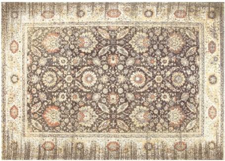 Warm Grey Carpet, 8x10,100% Cotton, Machine Woven, Made in India