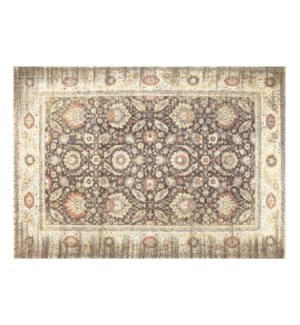 """NH19(A) Woven Carpet, 5x8 feet, Warm Grey"""