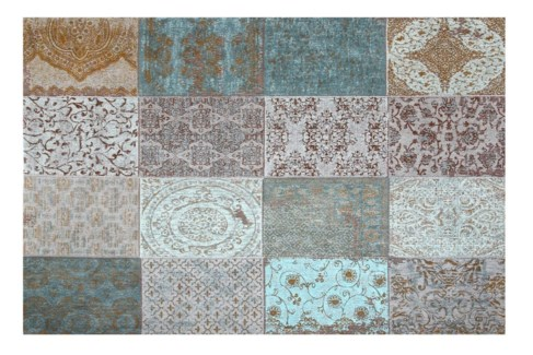 Patch KL Jade Carpet, 4x6 100 % Cotton, machine woven, 200gm/sqf India