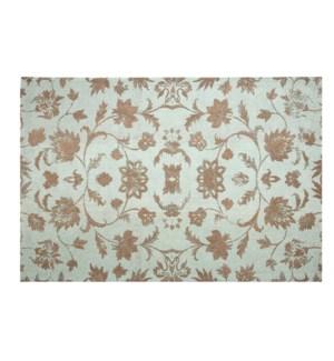 """Caspian Carpet, Washed Turquoise"""