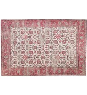 """Amer Woven Carpet, 4x6 feet, Rose"""