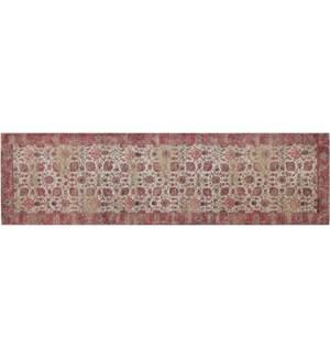 """Amer Woven Carpet, 2x7 feet, Rose"""