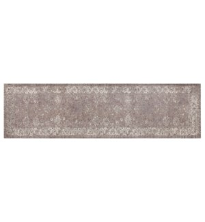 """""""Andrew Woven Carpet, 2x7 feet, Taupe"""""""