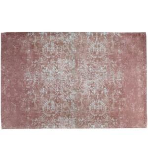 """Daisy Woven Carpet, 4x6 feet, Peach Mint"""