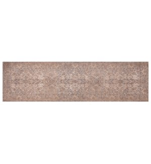 """Greece Woven Carpet, 2x7 feet, Peach"""