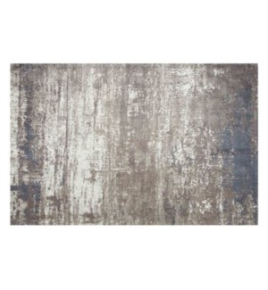 """Sea Beach Woven Carpet, 4x6 feet, Grey Beige"""