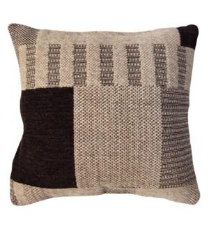 """""""FL1012 Woven Cushion, 23.6x23.6in, Grey"""""""