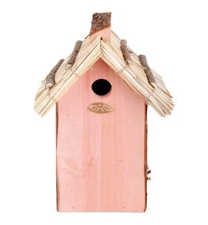 Nest box great tit thatchedDNO