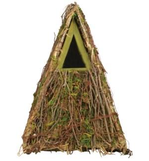 Camouflage nesting box. FirDNO