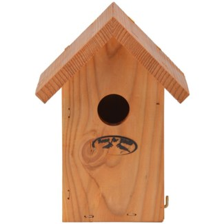 Douglas winter wren nesting box - 5.75x4.75x8 inches