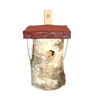 Bird house birch