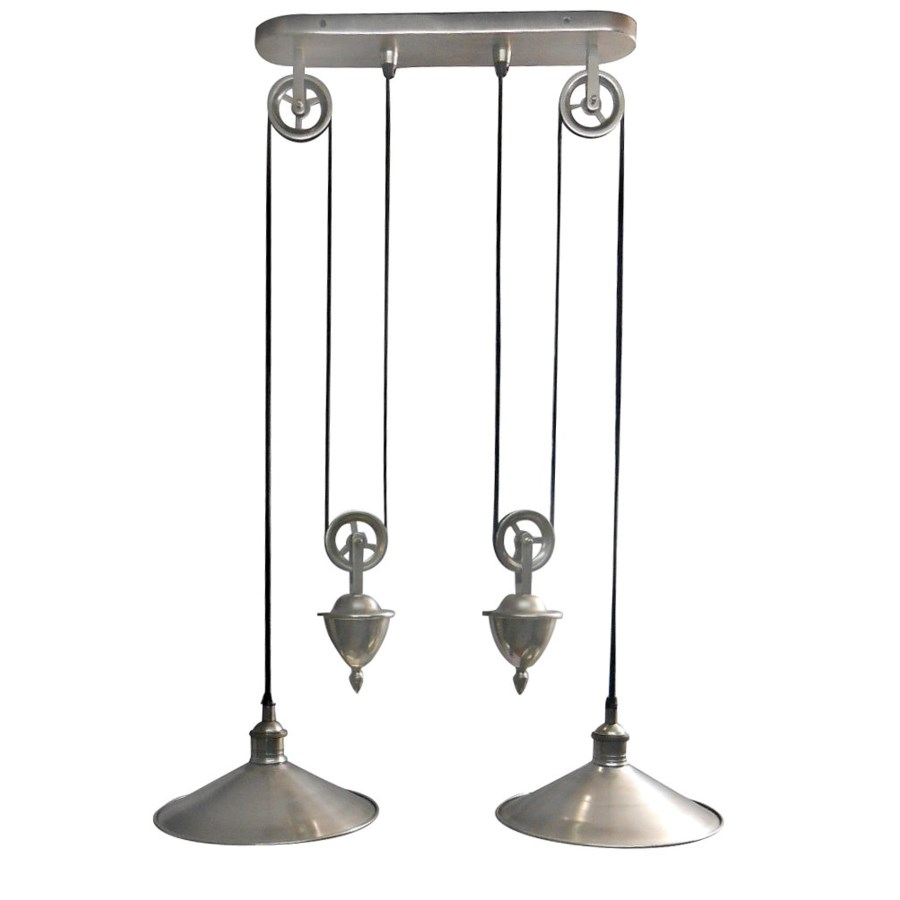 """""""Langley Hanging Lamp Double, OS"""""""