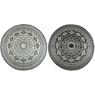 Round garden carpet - 71x71x0.5 inches
