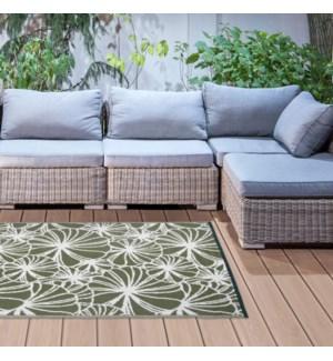 Garden carpet floral pattern