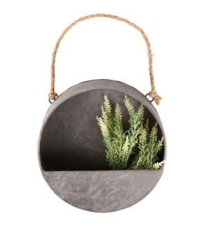 Wall planter round S