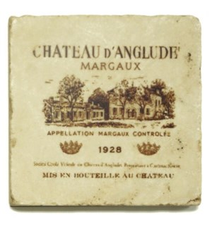 D'ANGLUDE Set/4 Coasters