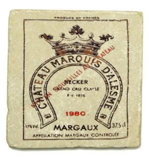 MARQUIS Set/4 Coasters