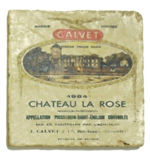 LA ROSE Set/4 Coasters