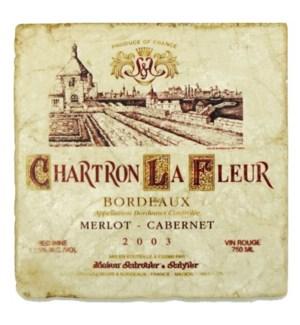 CHARTRON LA FLEUR Set/4 Coaste