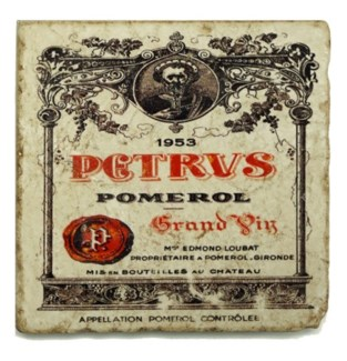 PETRVS Set/4 Marble Coasters 4x4 in