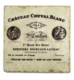 CHEVAL BLANC Set/4 Coasters