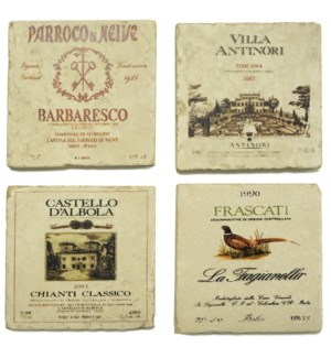 TUSCANY Series Set/4 Coasters
