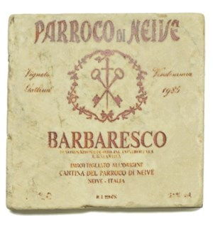 BARBARESCO Set/4 Coasters
