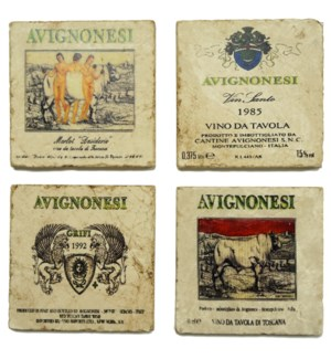 AVIGNONESI Series Set/4 Coaste