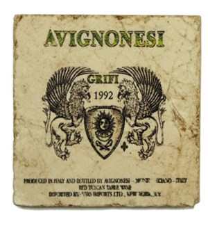 AVIGNONESI 1992 Set/4 Coasters