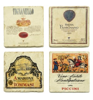 ITALY 1 Series Set/4 Coasters