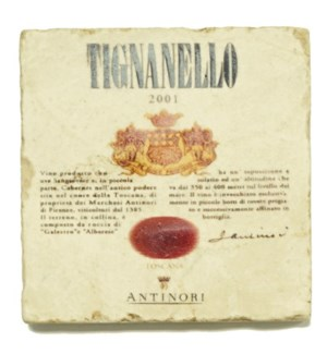 TIGNANELLO Set/4 Coasters