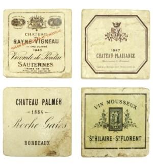 Vintage Wines Series Set/4 Coa