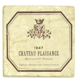 PLAISANCE Set/4 Coasters