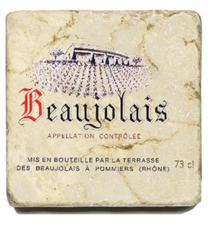 BEAUJOLAIS NOUV. Set/4 Coaster