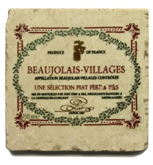 VILLAGES Set/4 Coasters