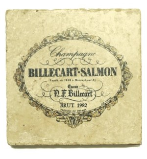 BILLECART SALMON Set/4 Coaster