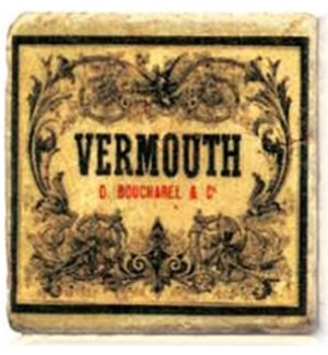 VERMOUTH Set/4 Coasters