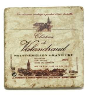 VALANDRAUD Set/4 Coasters