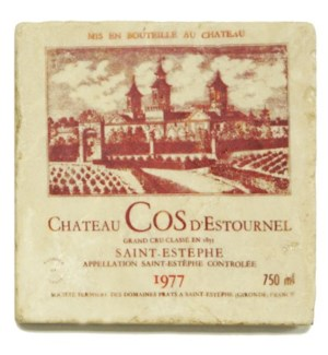COS D'ESTROUNEL Set/4 Coasters
