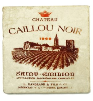 CAILLOU NOIR Set/4 Coasters