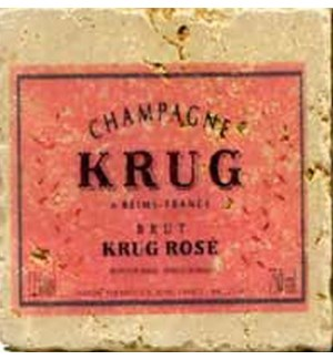 KRUG Set/4 Coaster