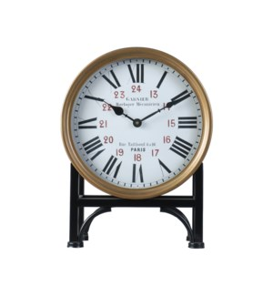Garnier Mantel Clock Bronze