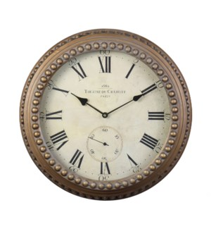 Chatelet Wall Clock Gold