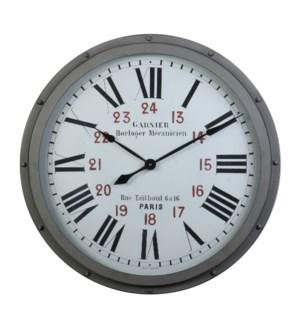 Garnier Wall Clock Gray