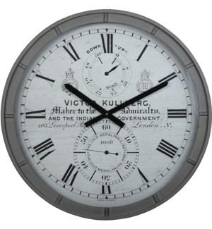 Kullberg Wall Clock Gray