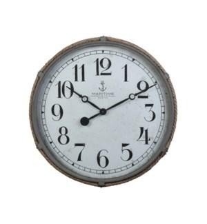 Maritime Wall Clock Gray