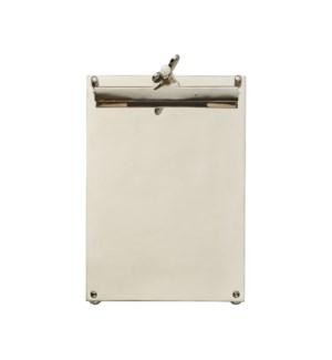 Scribner Notepad Nickel Large