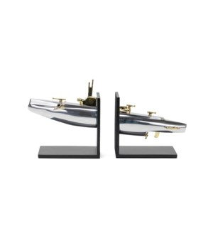 Submarine Bookends