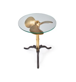 Ship Propeller Table Brass